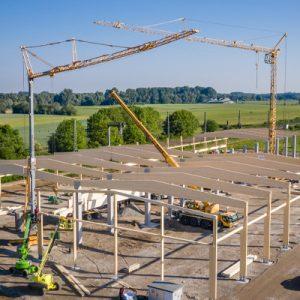 Neubau Halle SBS Friesenheim